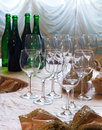 Before wine degustation Stock Image
