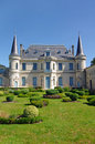 Wine estate in france medoc bordeaux chateau palmer is a famous of Stock Photo