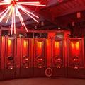 Wine fermenter tanks Royalty Free Stock Photo