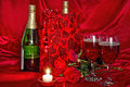 Wine in Gift Bag Royalty Free Stock Photo