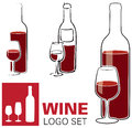 Wine and Glass Logo