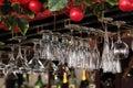 Wine-glasses Stock Image