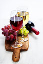 Wine and grape close up image Royalty Free Stock Photography