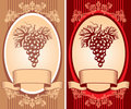 Wine  label Stock Photography