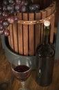 Wine set Royalty Free Stock Photo