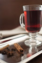 stock image of  Wine with spices