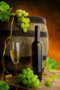 Wine still life Stock Photography
