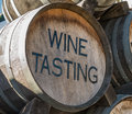Wine Tasting Barrel Royalty Free Stock Photo