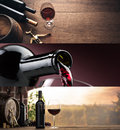 Wine tasting and winemaking Royalty Free Stock Photo