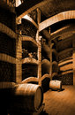 Winecellar Royalty Free Stock Photo