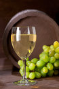 Wineglass of vine Royalty Free Stock Images