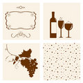 Winery design. Royalty Free Stock Photos