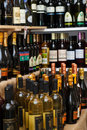 Wines from different countries Royalty Free Stock Images