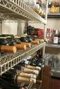 Wines store Stock Photos