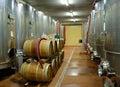 wineyard cellar Royalty Free Stock Photo