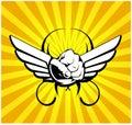 Wing fist