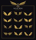 Wings icon set