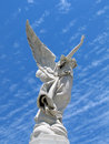 Winged angel statue Royalty Free Stock Photo