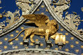 The winged lion of venice Stock Photography