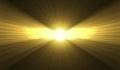 Winged Sun Egyptian Symbol Lig...