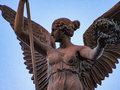 Winged Woman Statue