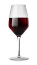 Winglass and red wine Stock Photo