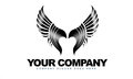 Wings Logo Royalty Free Stock Images