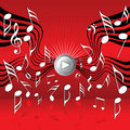 On the wings of music Royalty Free Stock Photo