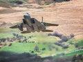 Wingtip Vorticies Fighter Jet