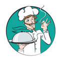 Winking chef Royalty Free Stock Photo
