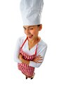 Winking chef Stock Photo