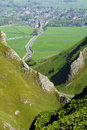 Winnats Pass Royalty Free Stock Photo