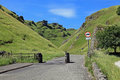Winnats Pass in Derbyshire. Royalty Free Stock Photo