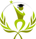 Winner graduation Royalty Free Stock Photos