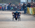 Winner Paddock Wood Wheelchair Race