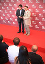 Winners of prizes at th venice film festival international on september in italy Stock Images