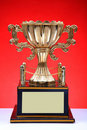 Winners trophy Stock Photography