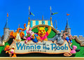 Winnie the pooh and friends plaque Royalty Free Stock Images