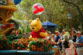 Winnie the pooh is waving at children during midday parade in magic kingdom orlando florida Stock Photography