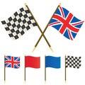 Winning great britain Royalty Free Stock Image