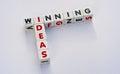 Winning ideas Royalty Free Stock Photo