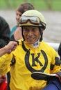 Winning Jockey Edgar Prado Royalty Free Stock Photography