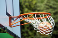 Winning shot - basketball Royalty Free Stock Photo