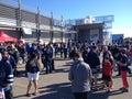 Winnipeg Jets fan fest Royalty Free Stock Photo