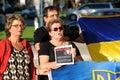 Winnipeg s ukrainian community rallies for jailed filmmaker august mb canada legislative building the canadian congress manitoba Stock Photos