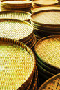Winnowing basket Stock Photo