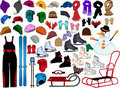 Winter Accessories Stock Image