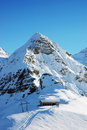 Winter Alps Stock Photography