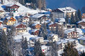 Winter in alps the swiss switzerland Stock Photography