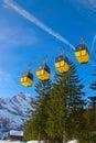 Winter in alps the swiss switzerland Stock Photos